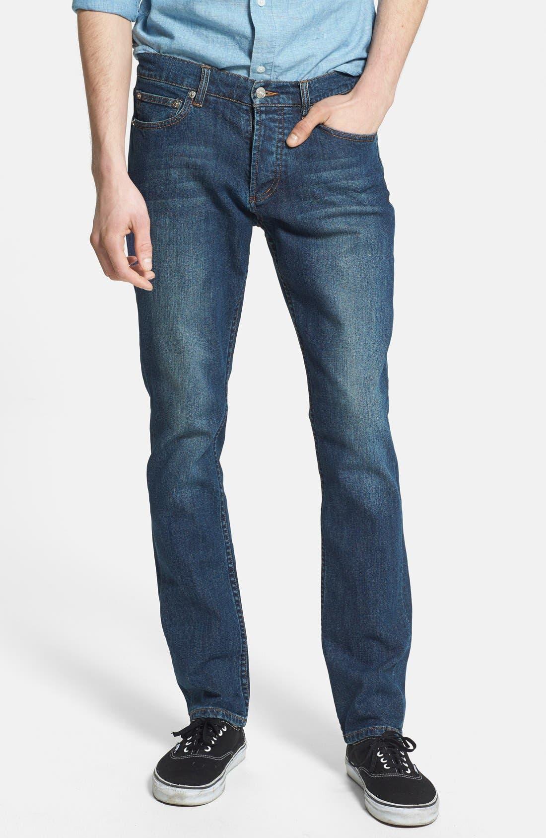 Obey Mens Threat Cut Denim Jeans