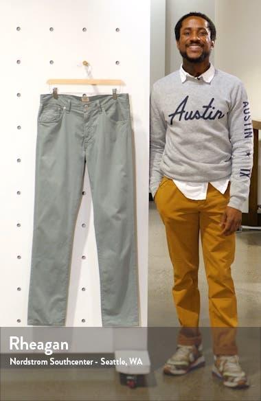 Luxury Bowery Slim Fit Twill Pants, sales video thumbnail