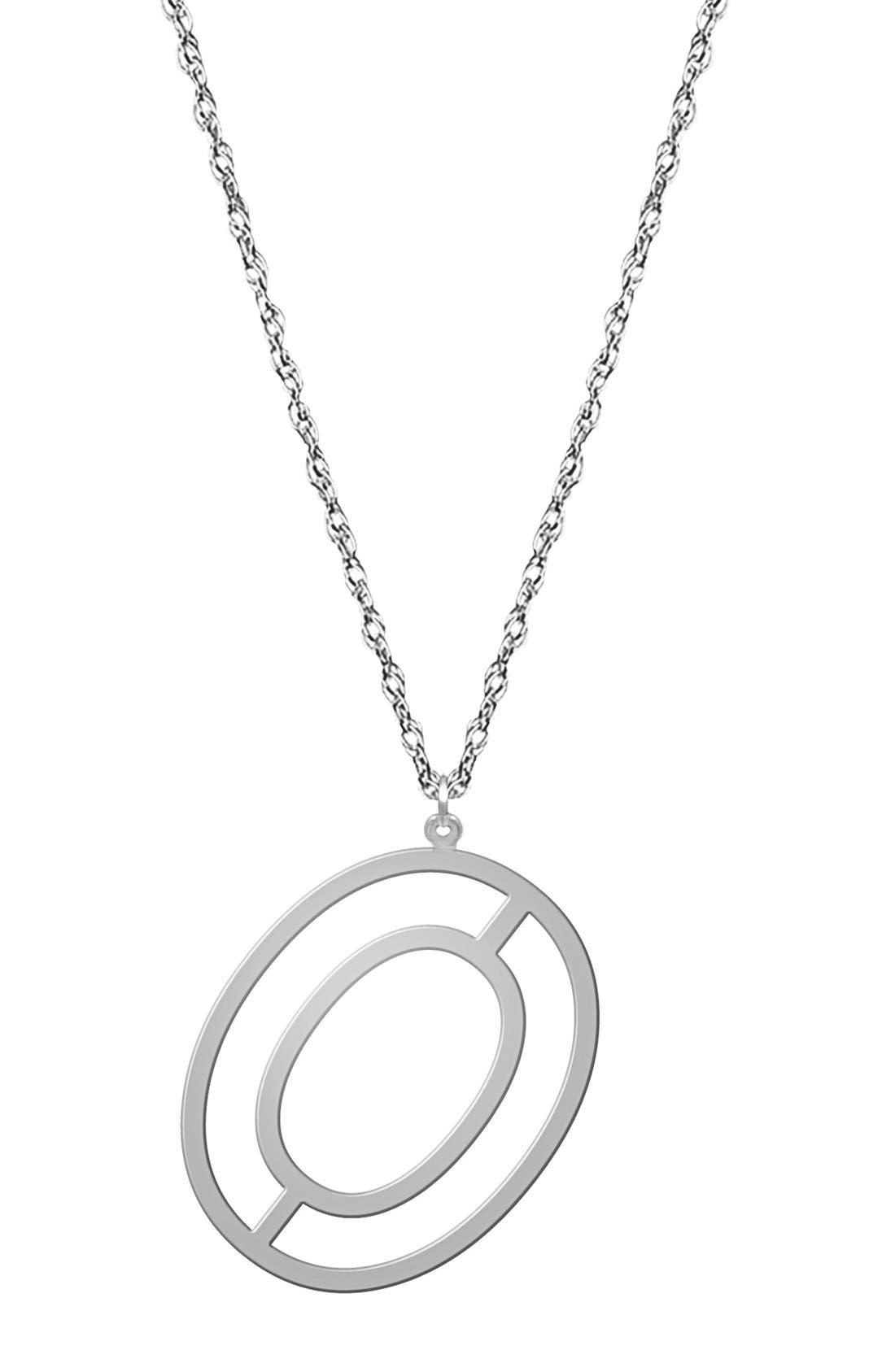 Varsity Initial Pendant Necklace