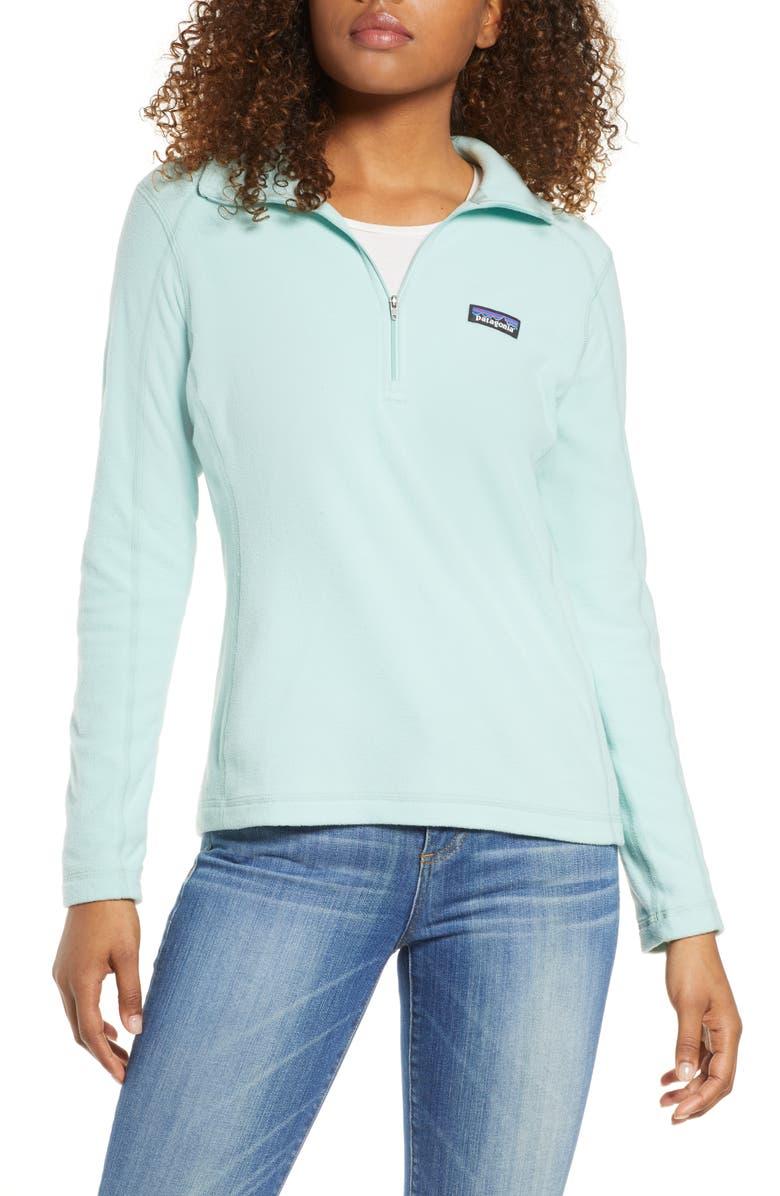PATAGONIA Micro D<sup>®</sup> Quarter-Zip Fleece Pullover, Main, color, 321