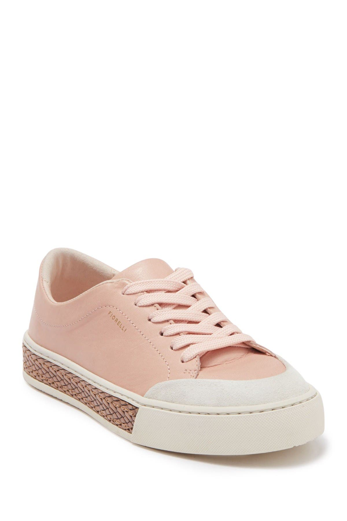 Image of Fiorelli Finley Leather Platform Sneaker