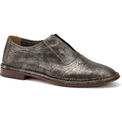 Trask Avery Loafer- Metallic
