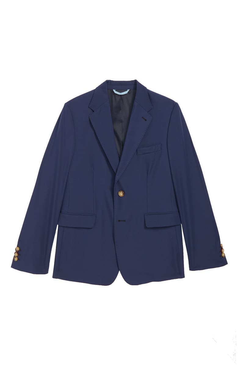 VINEYARD VINES Performance Blazer, Main, color, DEEP COBALT