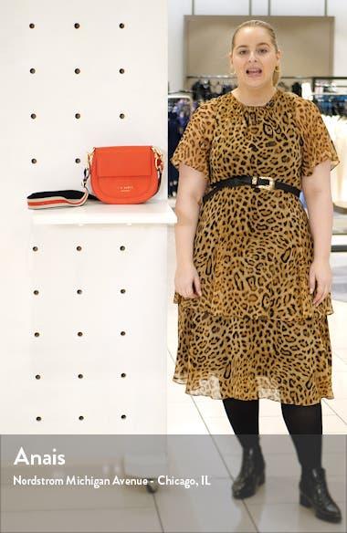 Amali Leather Crossbody Bag, sales video thumbnail