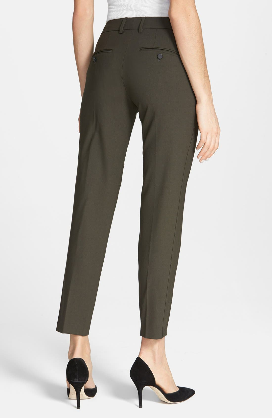 ,                             'Strapping' Stretch Wool Trousers,                             Alternate thumbnail 7, color,                             020