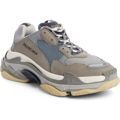 Balenciaga Triple S Retro Sneaker, Grey