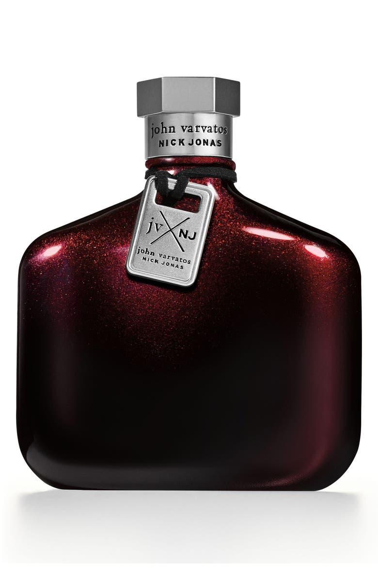 JOHN VARVATOS x Nick Jonas JVxNJ Red Edition Eau de Toilette, Main, color, NO COLOR
