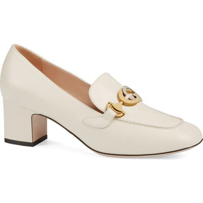 Gucciloafer Pump - White