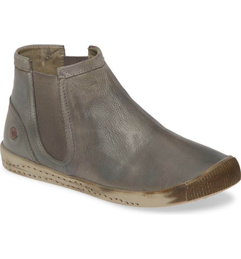 SOFTINOS BY FLY LONDON Ici Sneaker, Main, color, MILITARY LEATHER