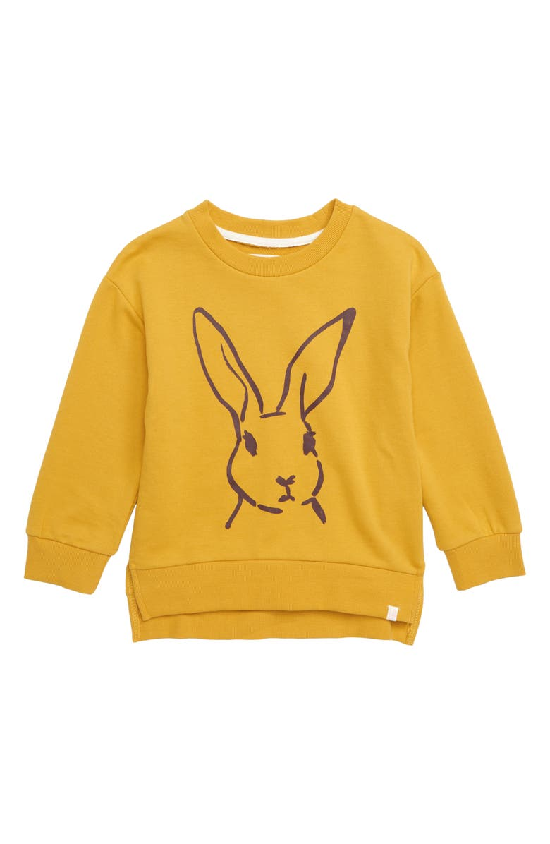 SOVEREIGN CODE Kennedy Bunny Graphic Sweatshirt, Main, color, 710