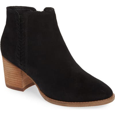Blondo Nina Waterproof Suede Boot, Black
