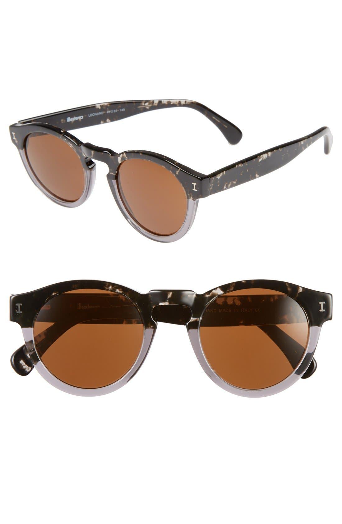 ,                             'Leonard' 47mm Sunglasses,                             Main thumbnail 29, color,                             021