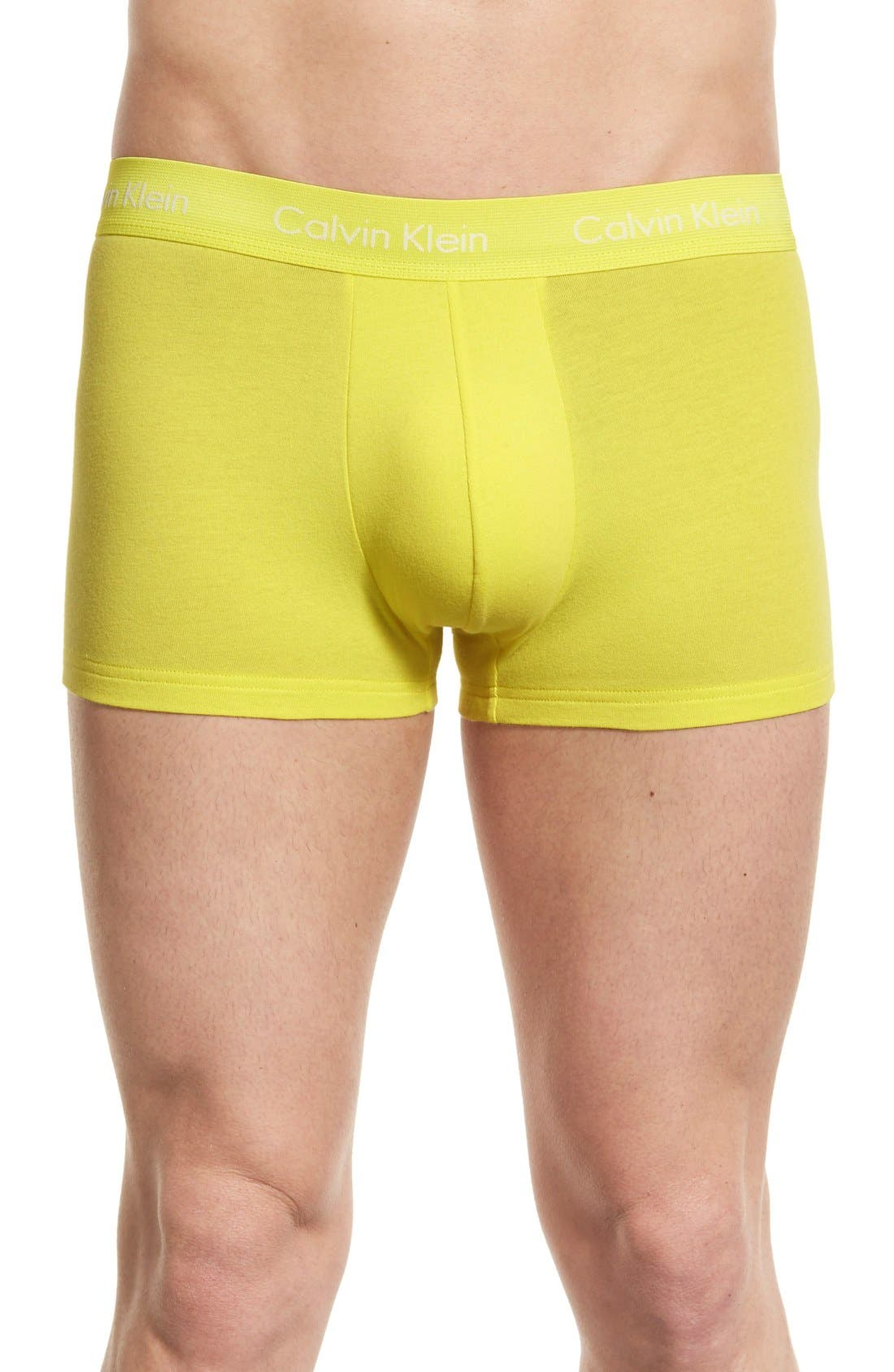 ,                             3-Pack Stretch Cotton Low Rise Trunks,                             Alternate thumbnail 164, color,                             402