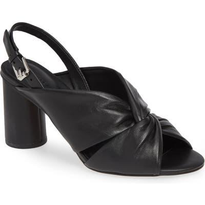 Rebecca Minkoff Agata Slingback Sandal- Black