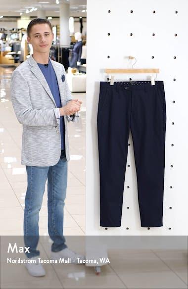 Sammual Slim Fit Textured Dress Pants, sales video thumbnail