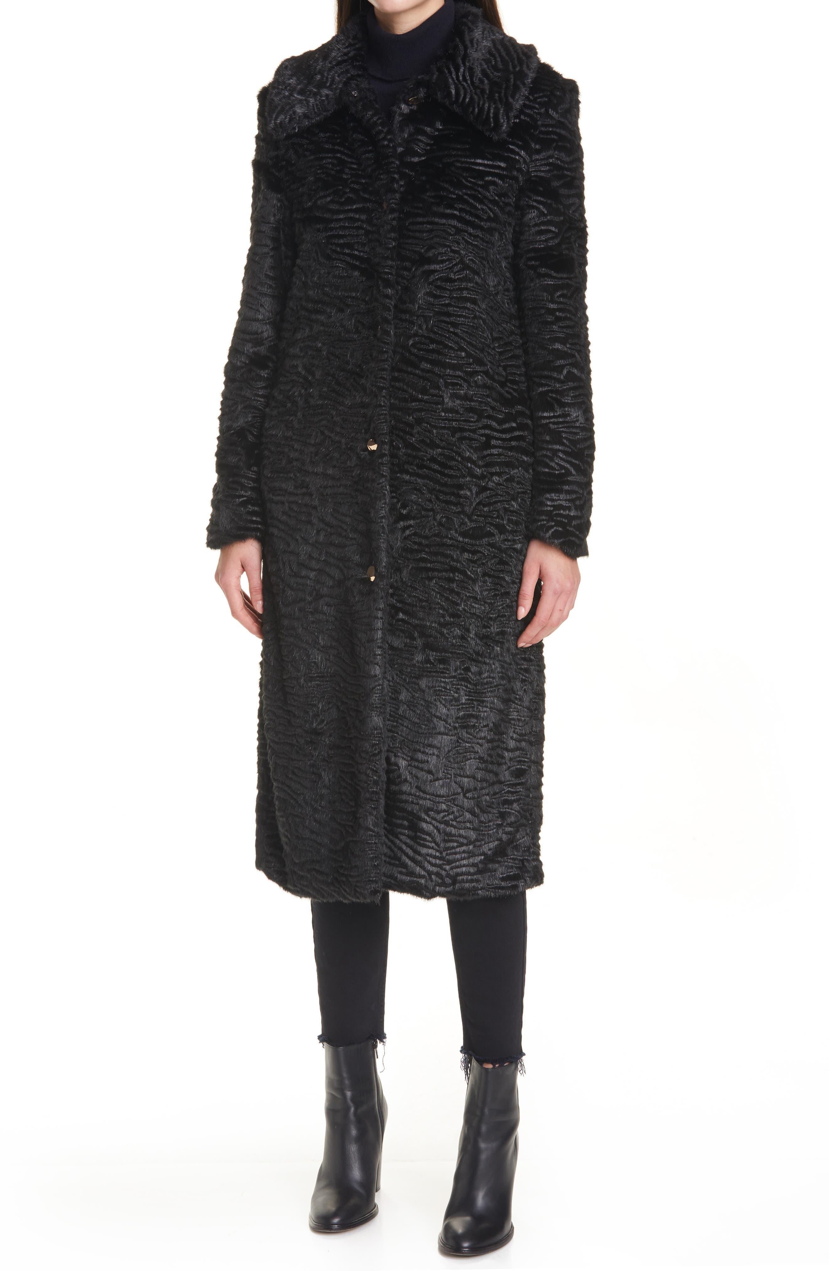 Staud Frankie Faux Fur Coat | Nordstrom