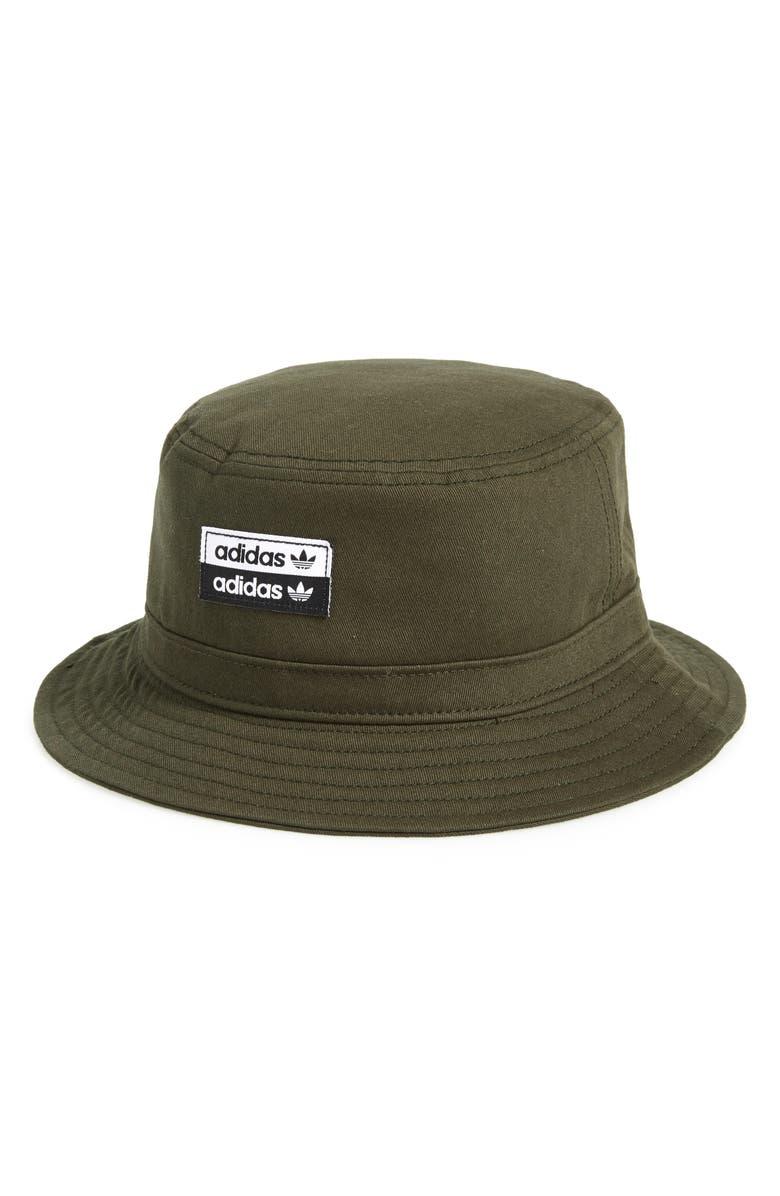 ADIDAS ORIGINALS Stacked Forum Bucket Hat, Main, color, 300