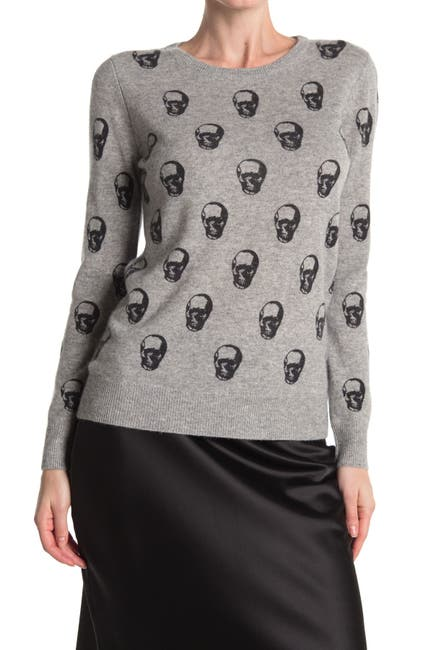 Image of M Magaschoni Cashmere Skull Pullover