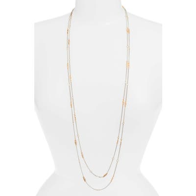 Allsaints Long Layered Station Necklace (Nordstrom Exclusive)