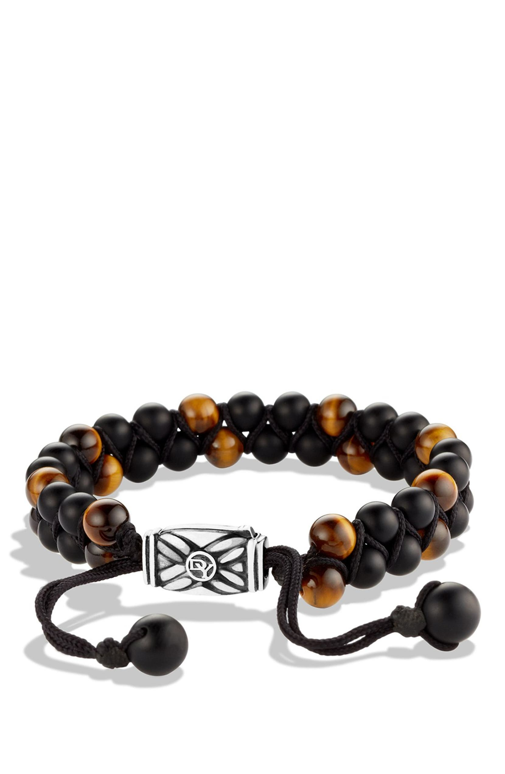 1d6a1cffb3bd0 David Yurman 'Spiritual Beads' Two-Row Bracelet with Black Onyx and ...