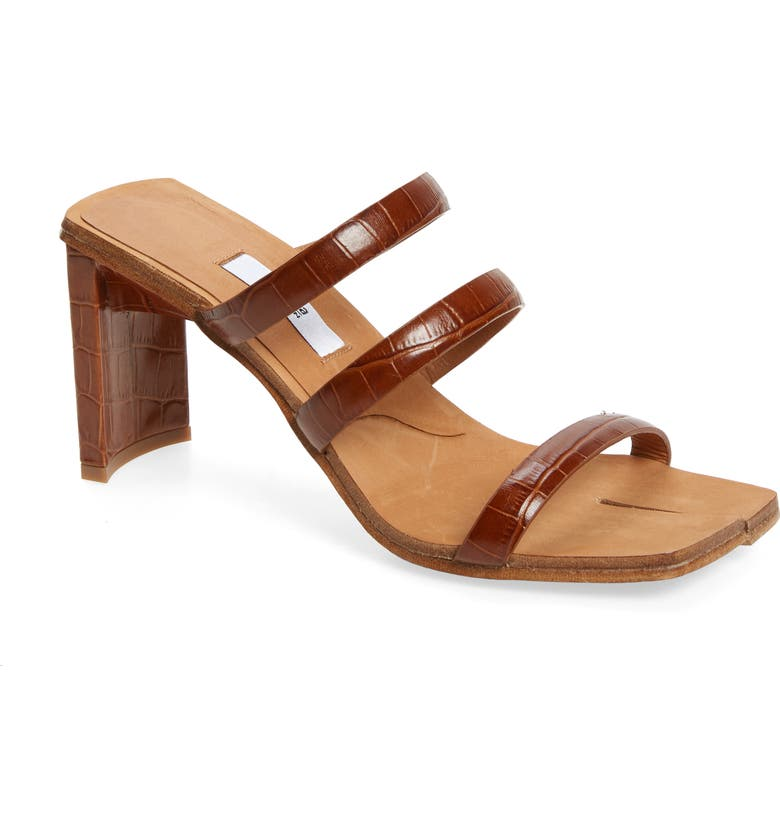 MIISTA Joanne Strappy Sandal, Main, color, CLAY CROC