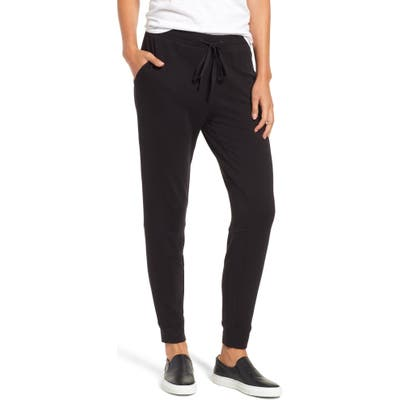 Lou & Grey Signaturesoft Plush Upstate Sweatpants, Black