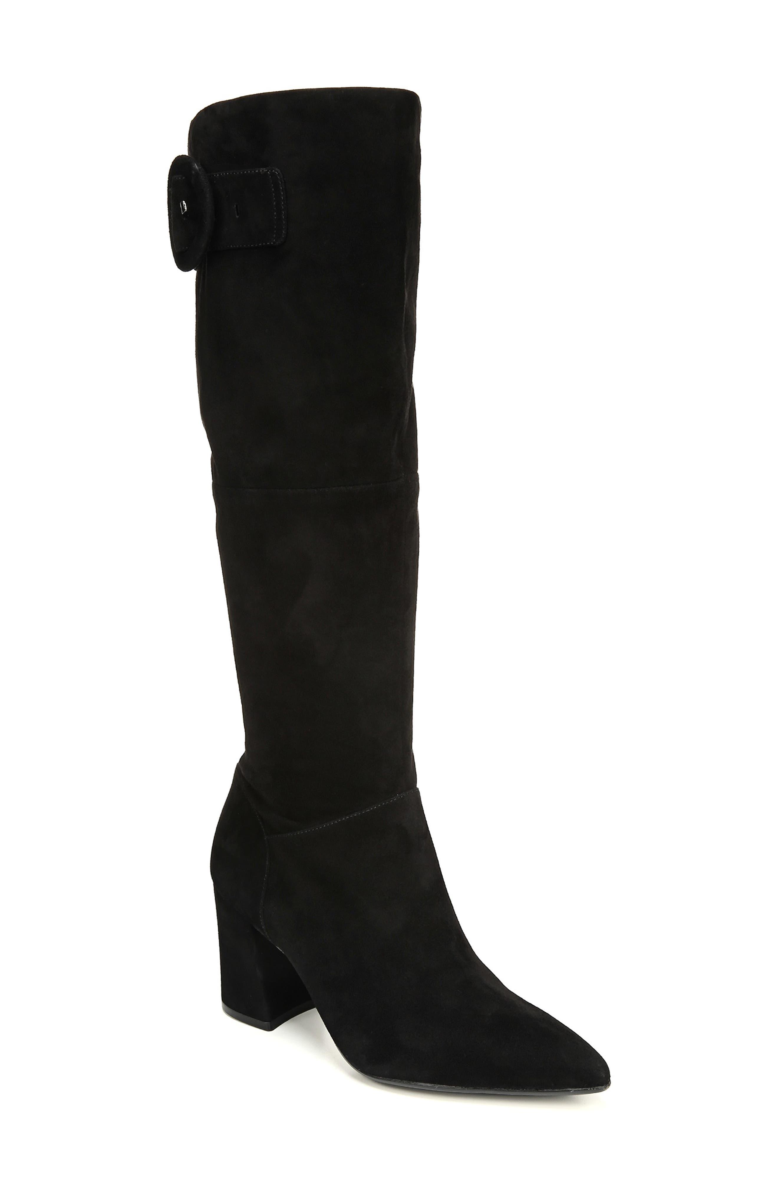 Naturalizer Harlowe Boot, Wide Calf- Black