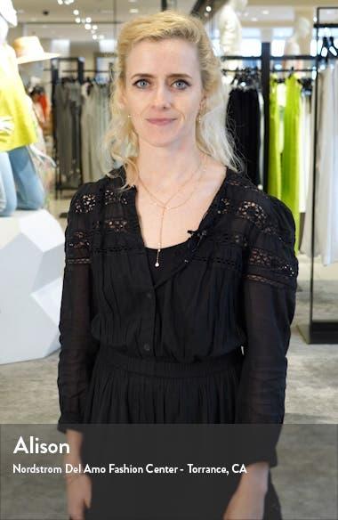 Rockiz Daisy Print Long Sleeve Dress, sales video thumbnail