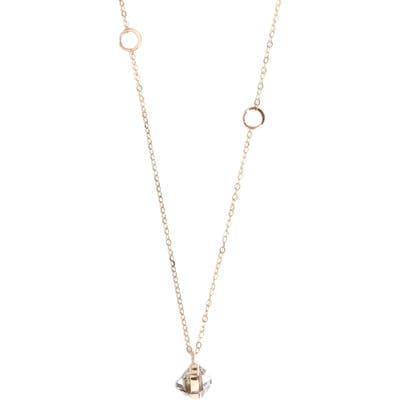 Melissa Joy Manning Herkimer Pendant Necklace