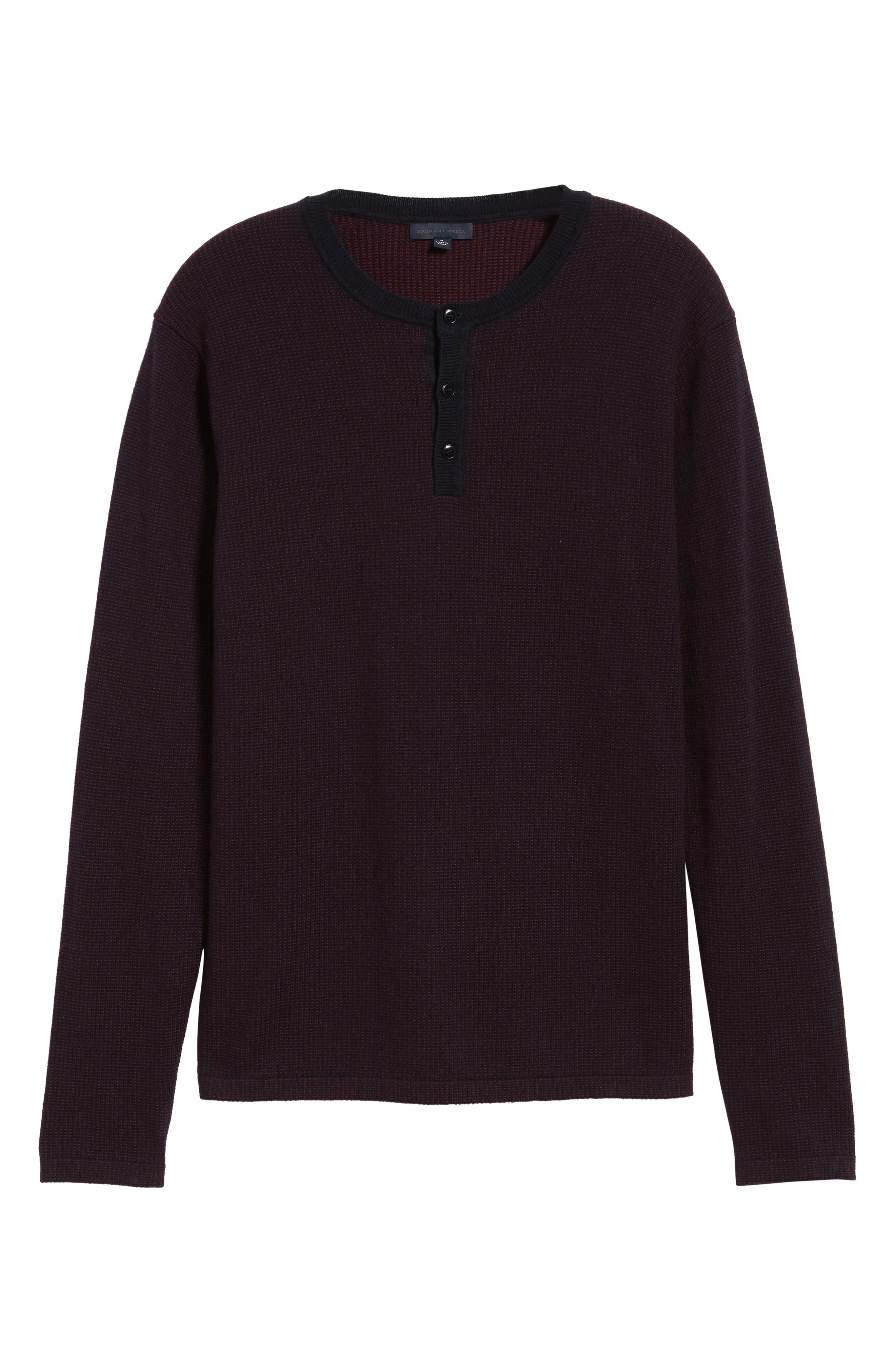 ,                             Kimball Regular Fit Henley Sweater,                             Alternate thumbnail 6, color,                             WINE