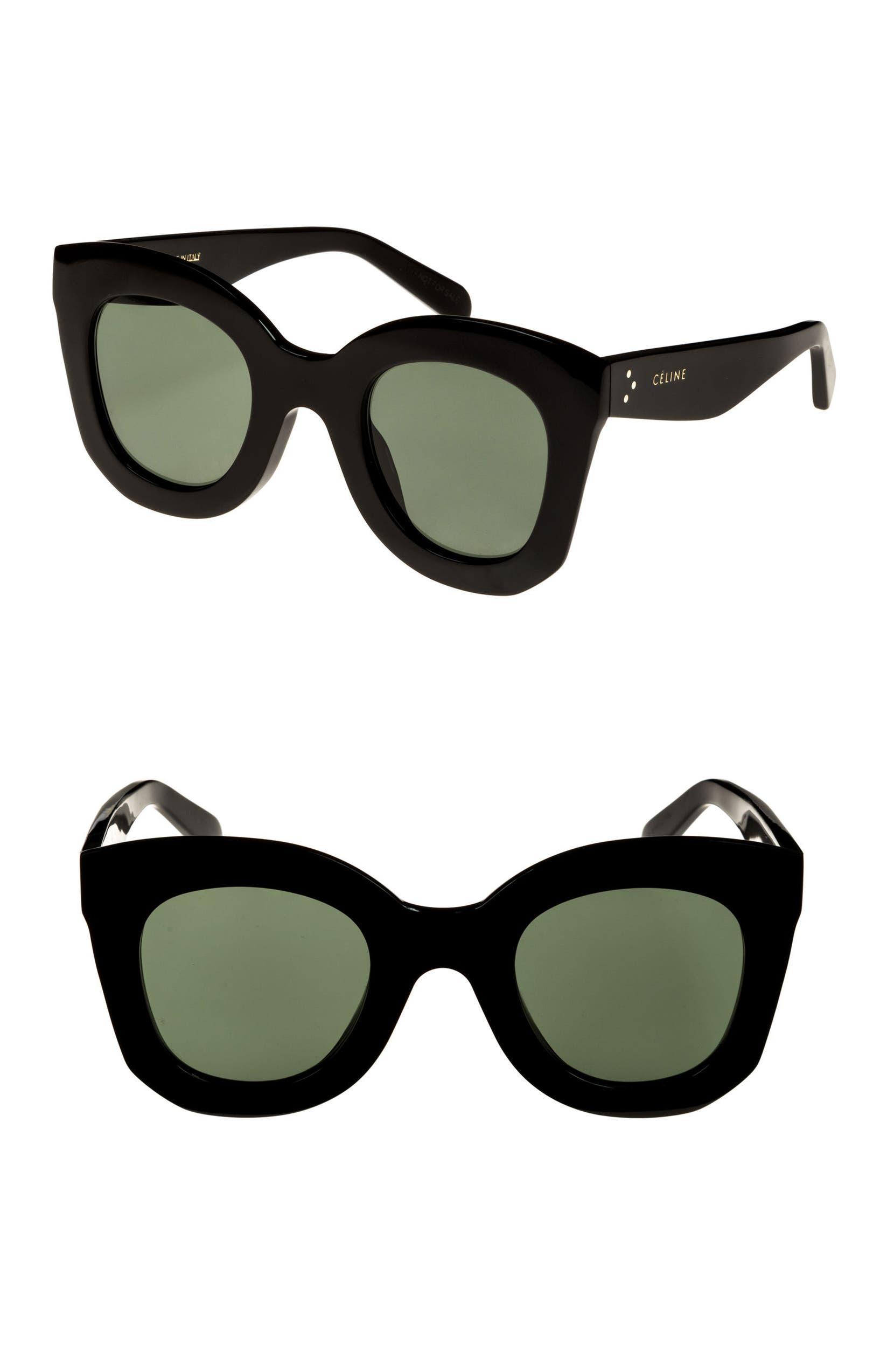 743b44e07fd8 CELINE Special Fit 49mm Cat Eye Sunglasses | Nordstrom