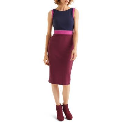 Boden Celia Ottoman Sheath Dress