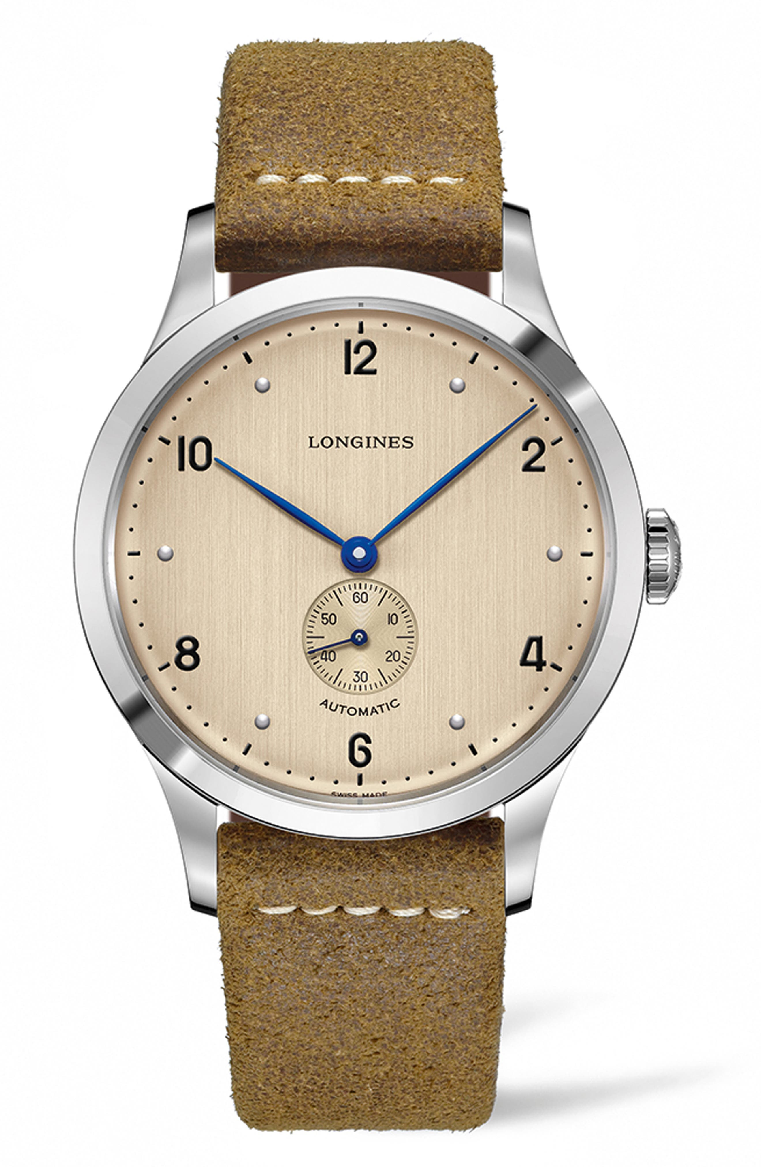 Heritage 1945 Leather Strap Watch