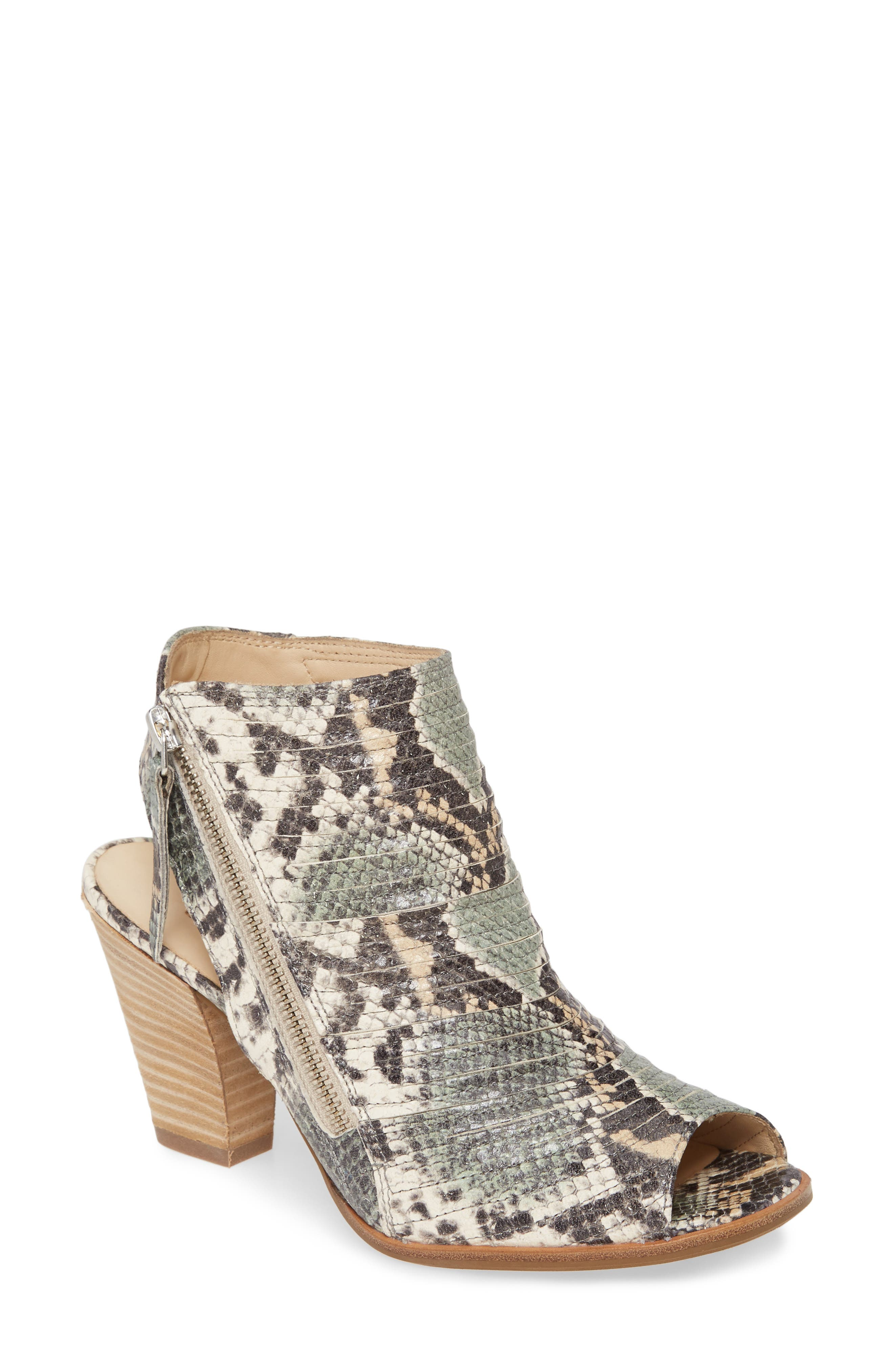 Paul Green | Cayanne Leather Peep Toe