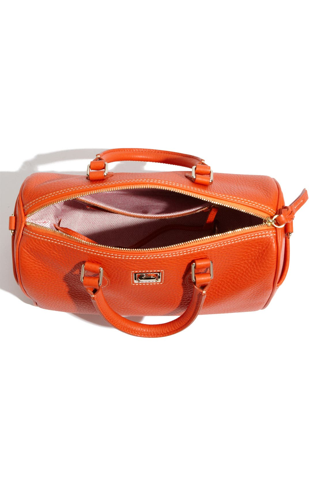 ,                             Leather Satchel,                             Alternate thumbnail 7, color,                             810
