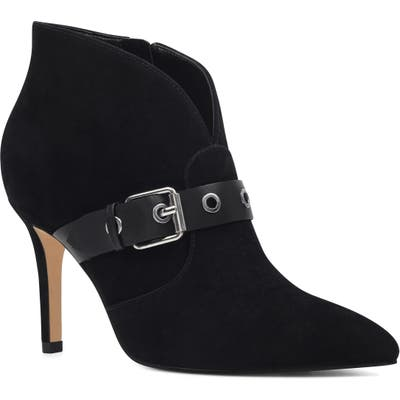 Nine West Jax Heel Bootie, Black
