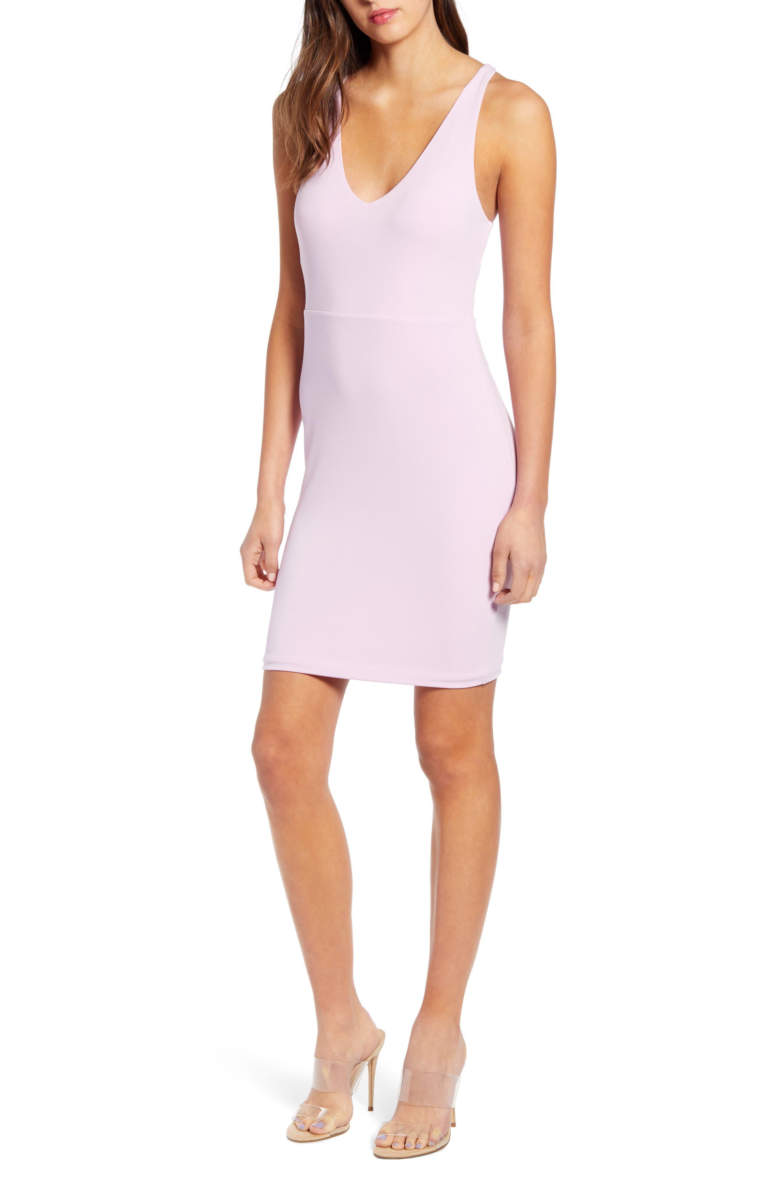 ,                             Racerback Body-Con Dress,                             Main thumbnail 44, color,                             530