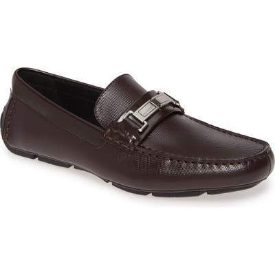 Calvin Klein Karns Bit Driving Loafer- Brown