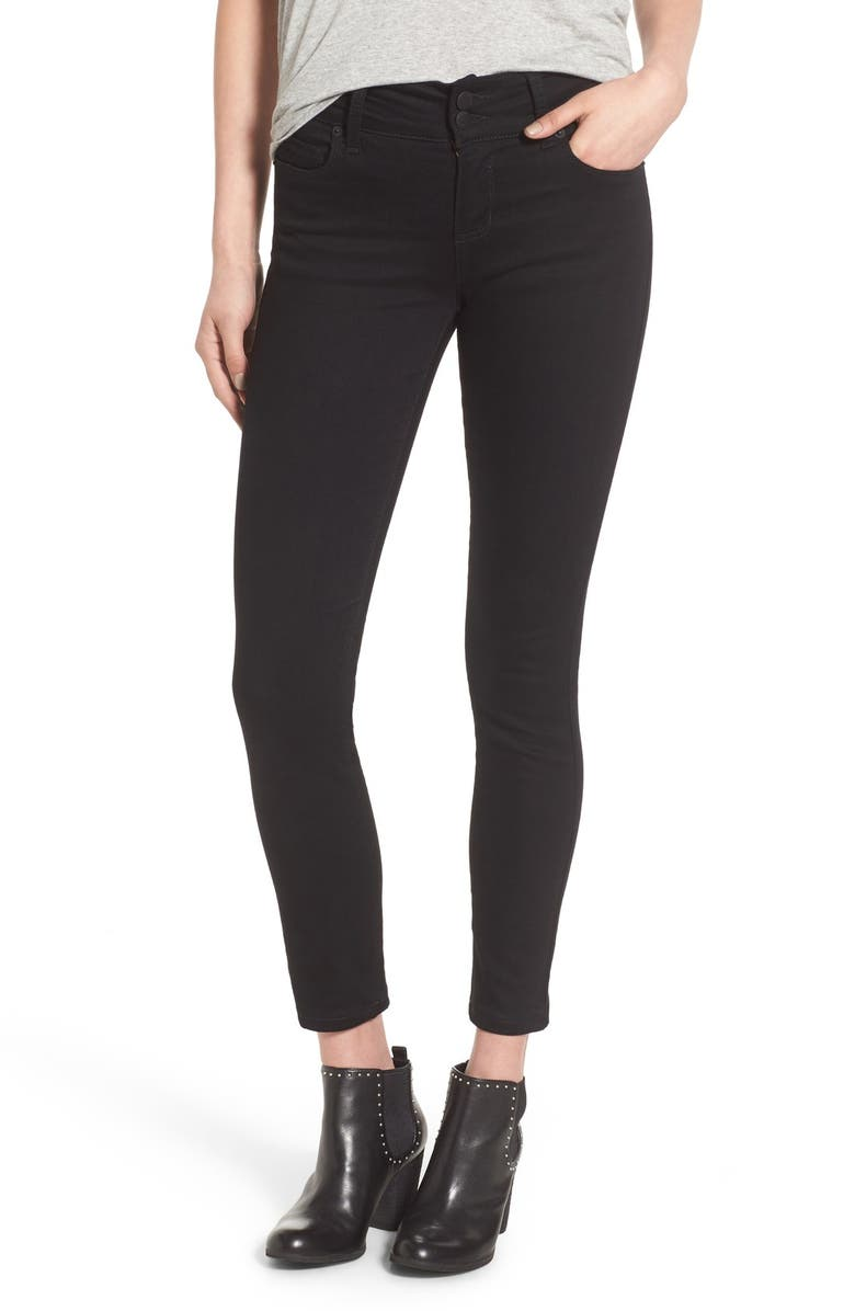 STS BLUE Double Button Skinny Jeans, Main, color, 001