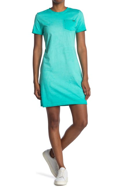 Image of Calvin Klein Washed T-Shirt Dress