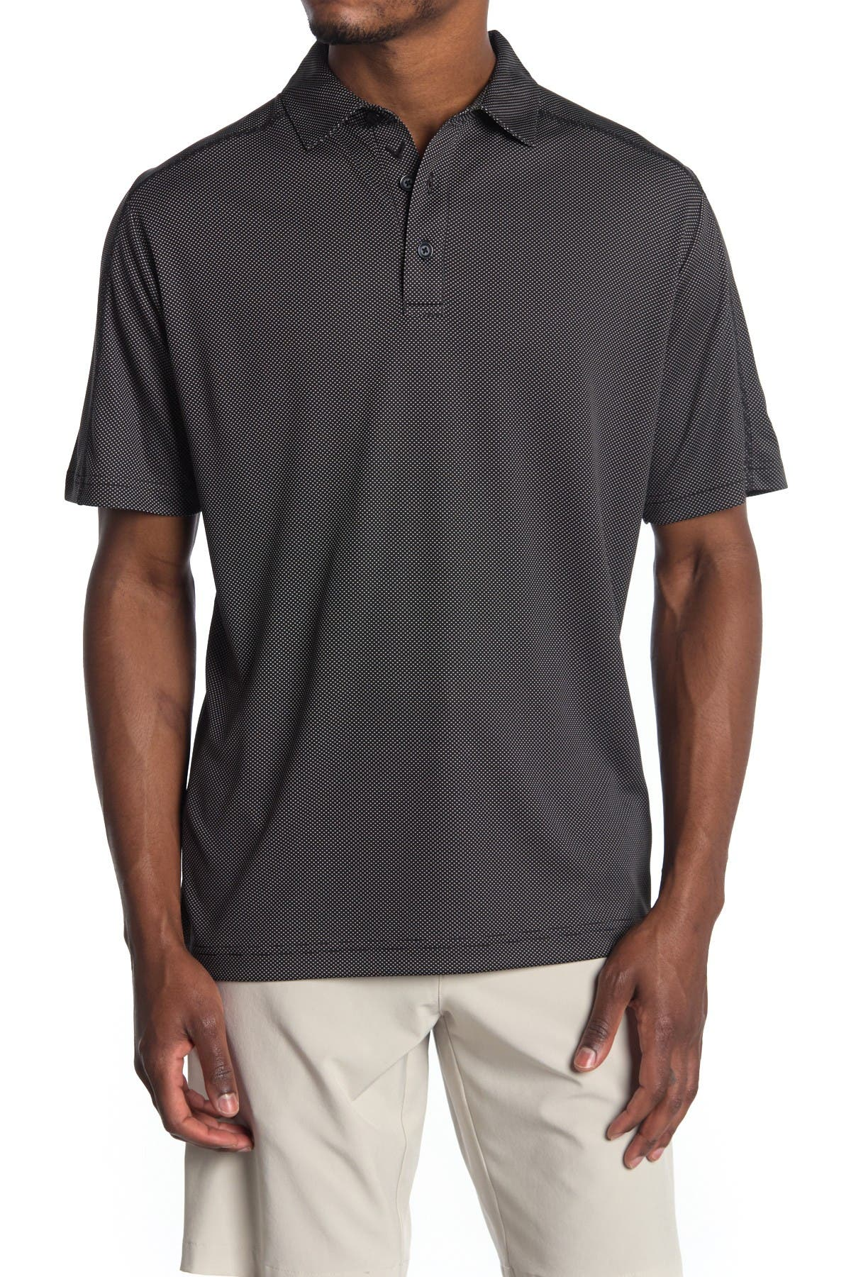 Image of CALLAWAY GOLF Printed Golf Polo