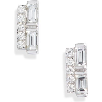 Bony Levy Gatsby Mixed Diamond Stud Earrings (Nordstrom Exclusive)