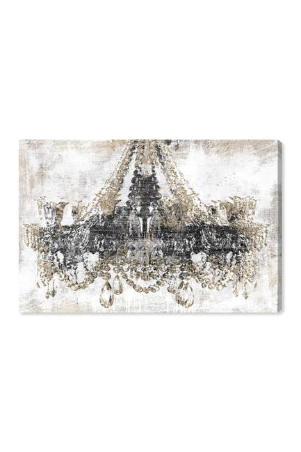 "Image of Oliver Gal Gallery Luxury Night Diamonds Canvas Art - 45""x30"""