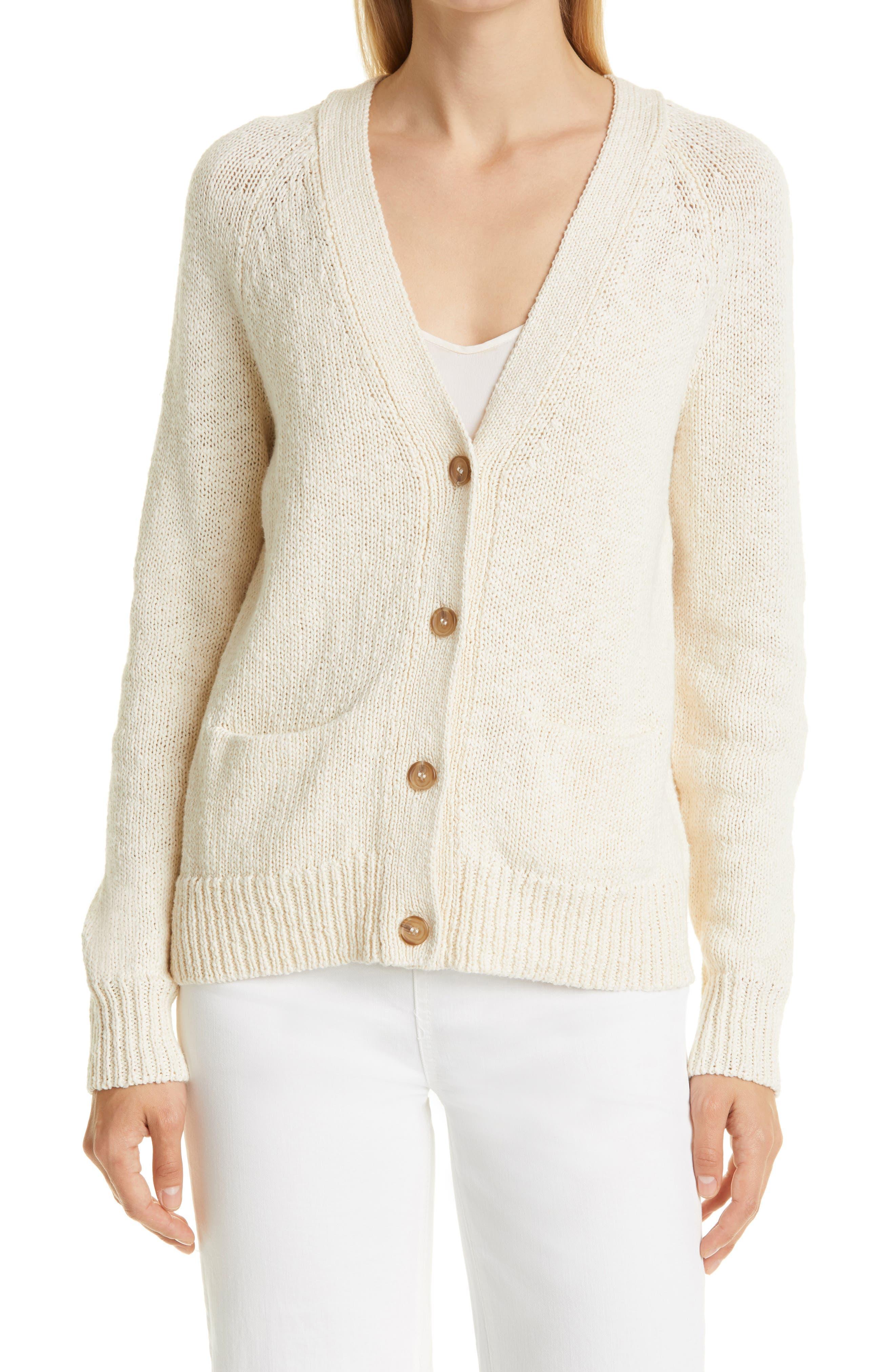 Stanford Cotton & Linen Cardigan