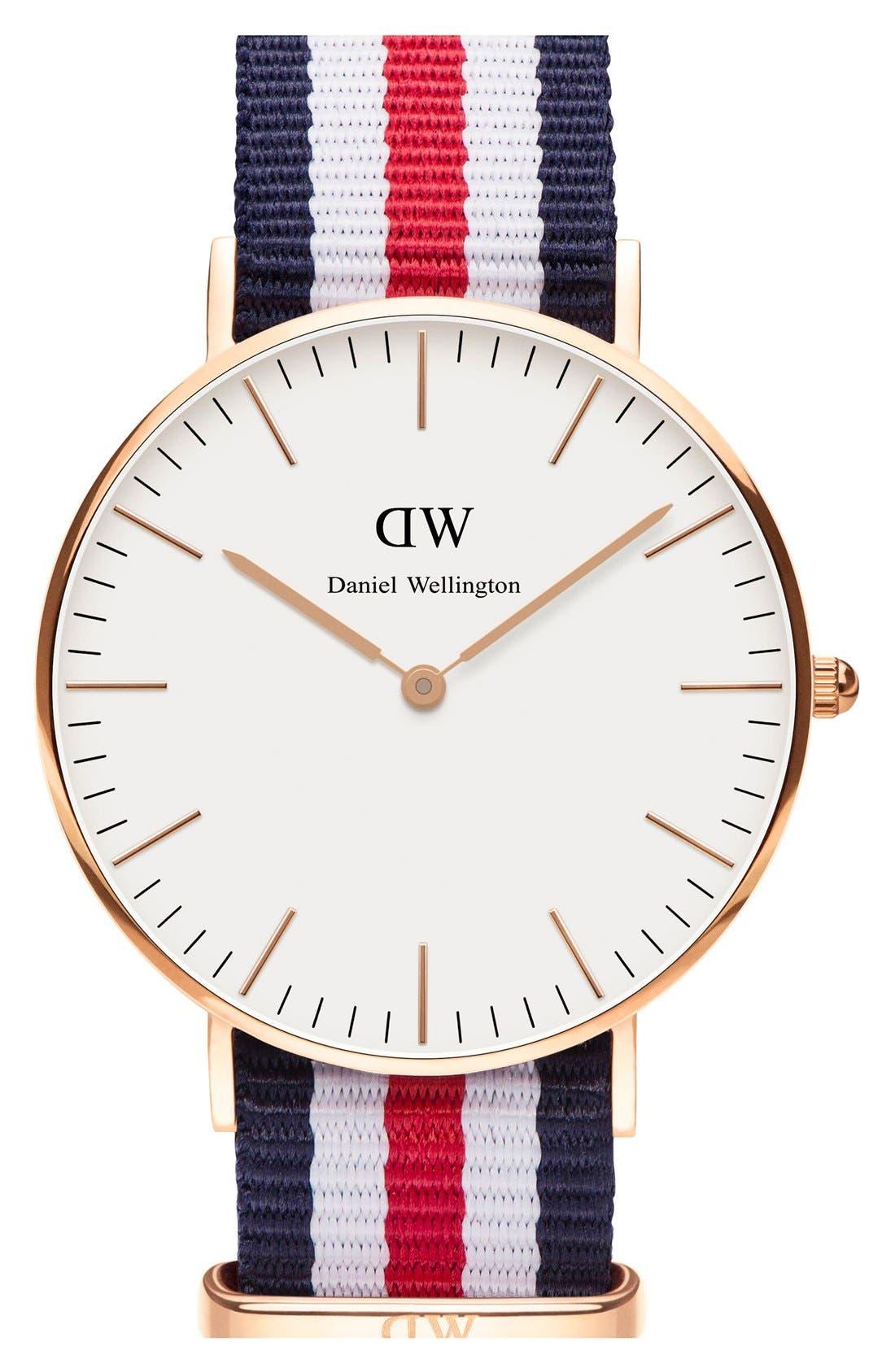 'Classic Canterbury' Nato Strap Watch