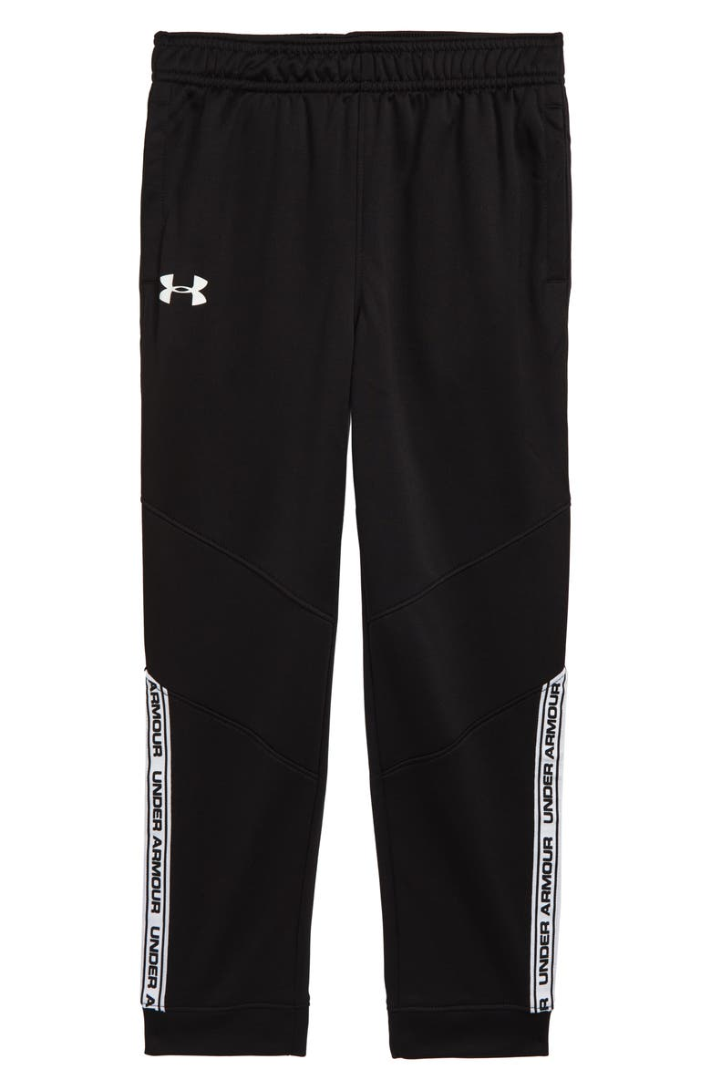 UNDER ARMOUR Rise Above Jogger Pants, Main, color, BLACK