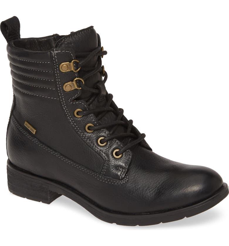 SÖFFT Baxter Waterproof Hiker Boot, Main, color, BLACK LEATHER