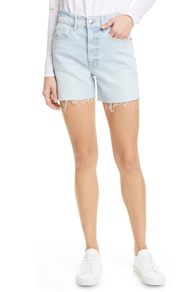 FRAME Le Tour High Waist Denim Shorts, Main, color, ALTADENA