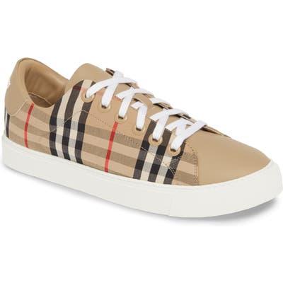 Burberry Albridge Monogram Sneaker, Beige