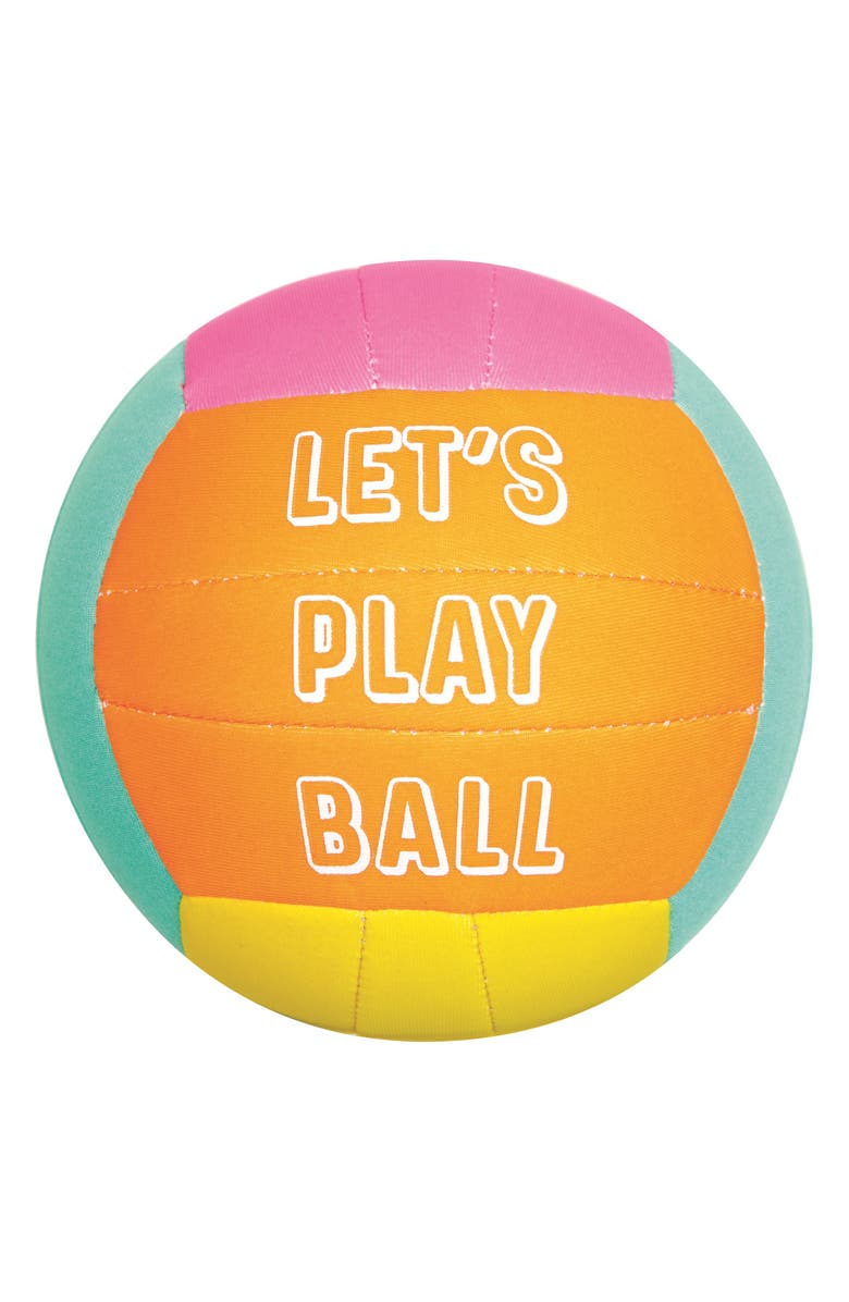 SUNNYLIFE Let's Play Ball Beach Ball, Main, color, 800